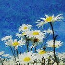 Wild Daisies by Purrnickerty