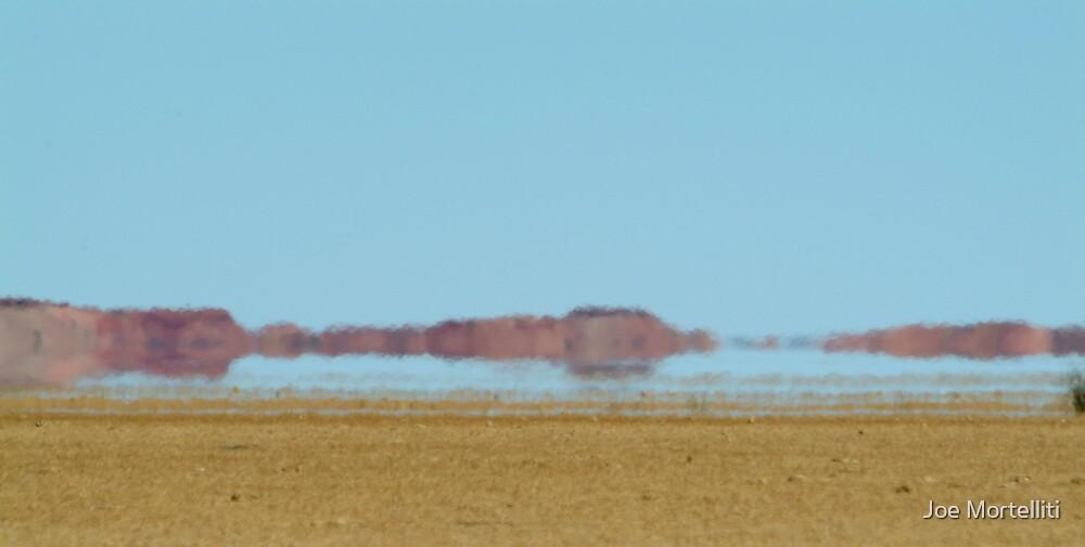 Mirage, Outback Queensland by Joe Mortelliti