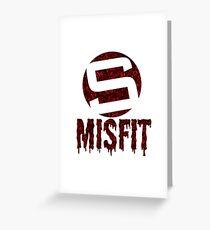 Stride Misfit Greeting Card