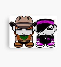 Jill & Emme Bass O'BABYBOT Toy Robot 1.0 Canvas Print