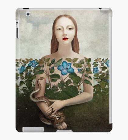 Eva and the Garden  iPad Case/Skin