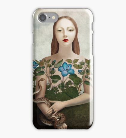 Eva and the Garden  iPhone Case/Skin