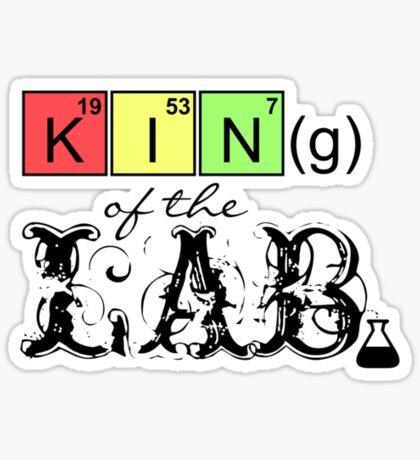 King of the Lab VRS2 Sticker