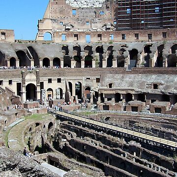 Inside the Colosseum by pluffy