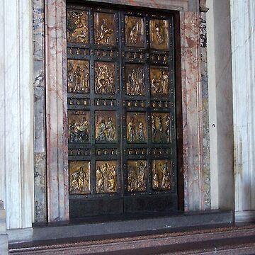 Golden door by pluffy