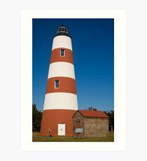 The Sapelo Island Lighthouse Art Print