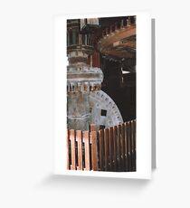 Windmill workings Greeting Card