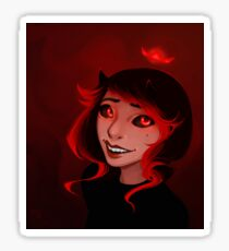 Demonic Smiles Sticker