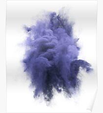 Smoke Violet Poster