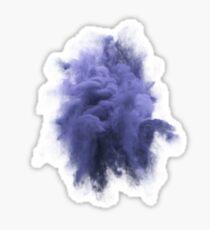 Smoke Violet Sticker