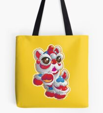 Cute Lion Dancer Tote Bag