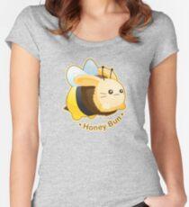 Cute Honey Bun Bunny Women's Fitted Scoop T-Shirt