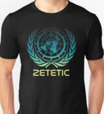 Flat Earth Designs - Zetetic Astronomy ( Flat Earth Map ) Unisex T-Shirt
