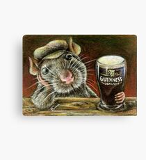 Paddy the rat Canvas Print