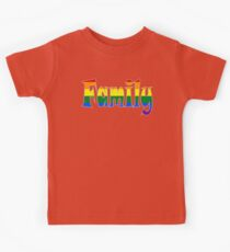 Rainbow Family Gay / lesbian Interest - from Bent Sentiments Kids Clothes