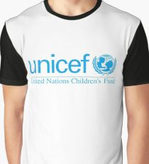 Unicef for Better Children Future Graphic T-Shirt