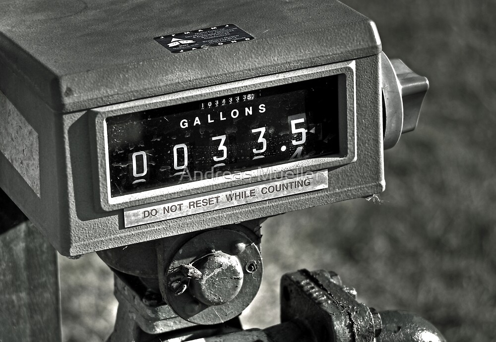 33.5 Gallons by Andreas Mueller
