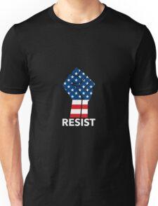 Raised Fist - RESIST Unisex T-Shirt