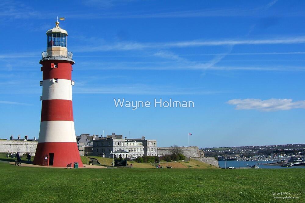 Plymouth Hoe by Wayne Holman
