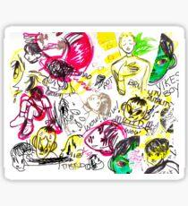 Collage Sticker