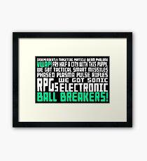 Bill... Framed Print