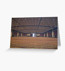 Conference Ctr Chicago Greeting Card