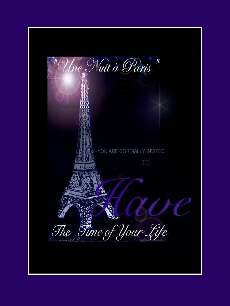 A Night in Paris by Janis Kirstein