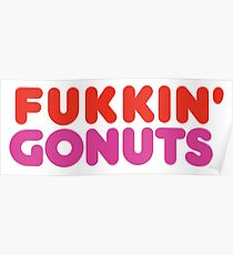 fukking gonuts Poster