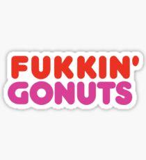 Fukking Gonuts - No GMO Sticker