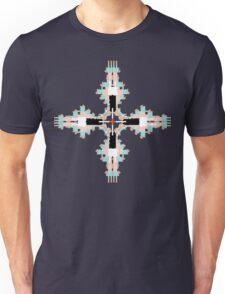 Pantone Plus Feathered Kale Circles Unisex T-Shirt