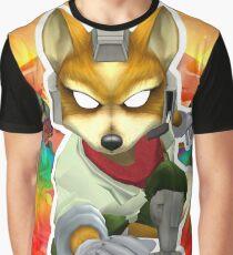 F O X - VAPORWAVE Graphic T-Shirt