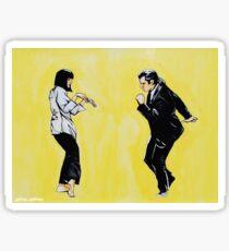 Pulp Fiction 'so dance good' Sticker