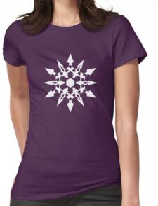 RWNY Weiss Emblem Womens Fitted T-Shirt