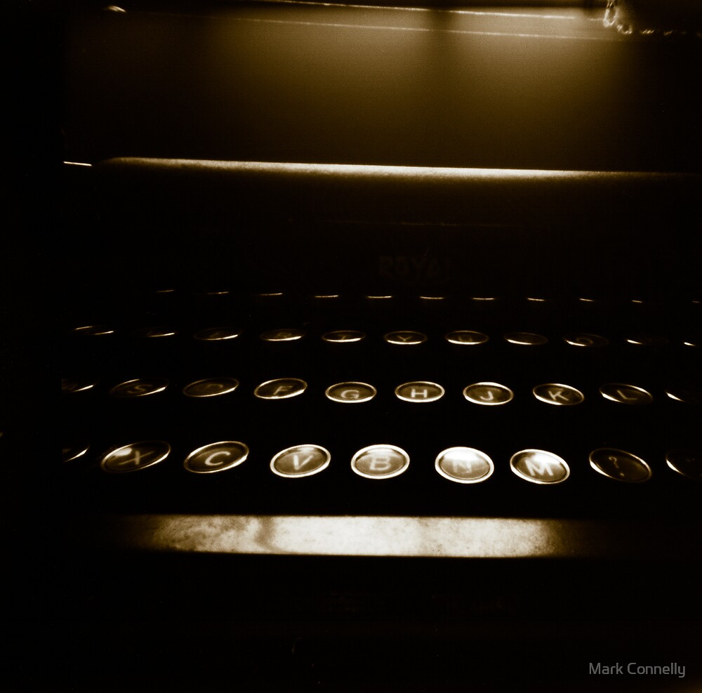 Royal Typewriter by Mark Connelly
