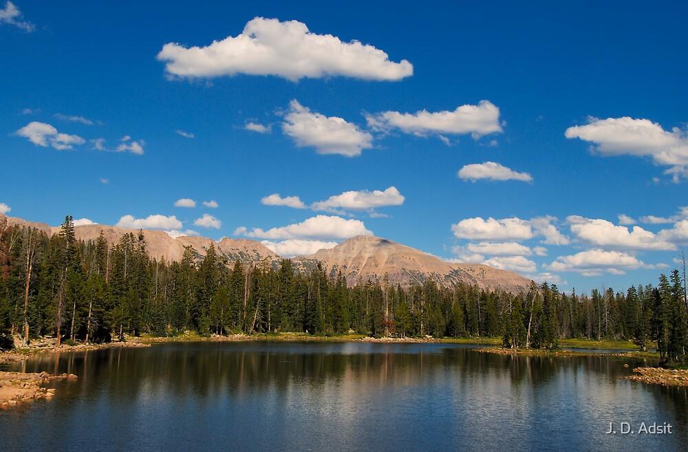 Pass Lake by J. D. Adsit