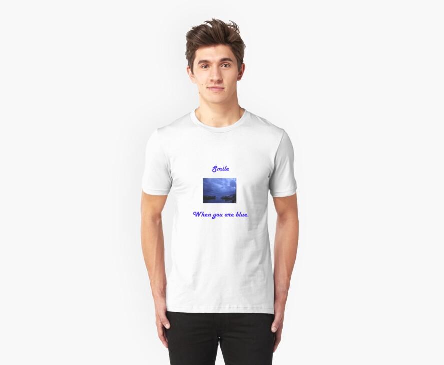 Smile T-shirt by Michael Reimann