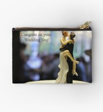 Wedding with some humour Studio Pouch