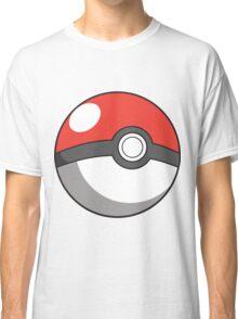 Cartoon Pokeball Classic T-Shirt