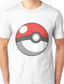 Cartoon Pokeball Unisex T-Shirt