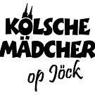 Kölsche Mädcher op Jöck von theshirtshops