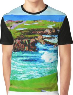 Over The Breakers At 16th Graphic T-Shirt