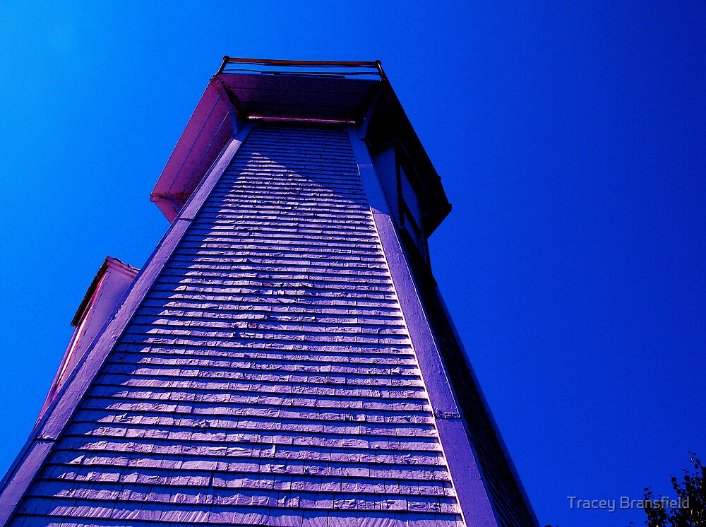 Blue Lighthouse by Tracey Bransfield