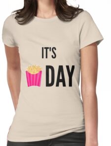 It's Day Womens Fitted T-Shirt