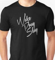 Wake Pray Slay White T-Shirt
