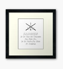 Rangers Roleplaying | Fantasy Role Playing Framed Print