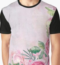 Floral Spring Greatings - Pastell Flowers and Roses Graphic T-Shirt