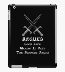 Rogues Roleplaying | Fantasy Role Playing iPad Case/Skin