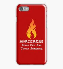 Sorcerer Roleplaying | Fantasy Role Playing iPhone Case/Skin