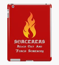 Sorcerer Roleplaying | Fantasy Role Playing iPad Case/Skin