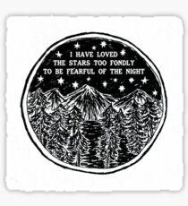 Love The Stars Sticker